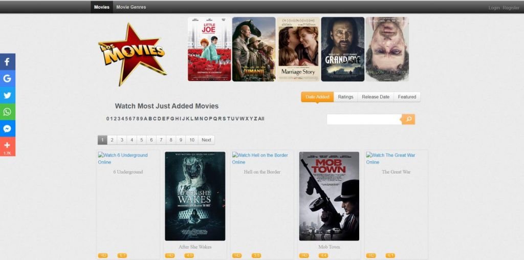 Los Movies, Putlocker Alternative
