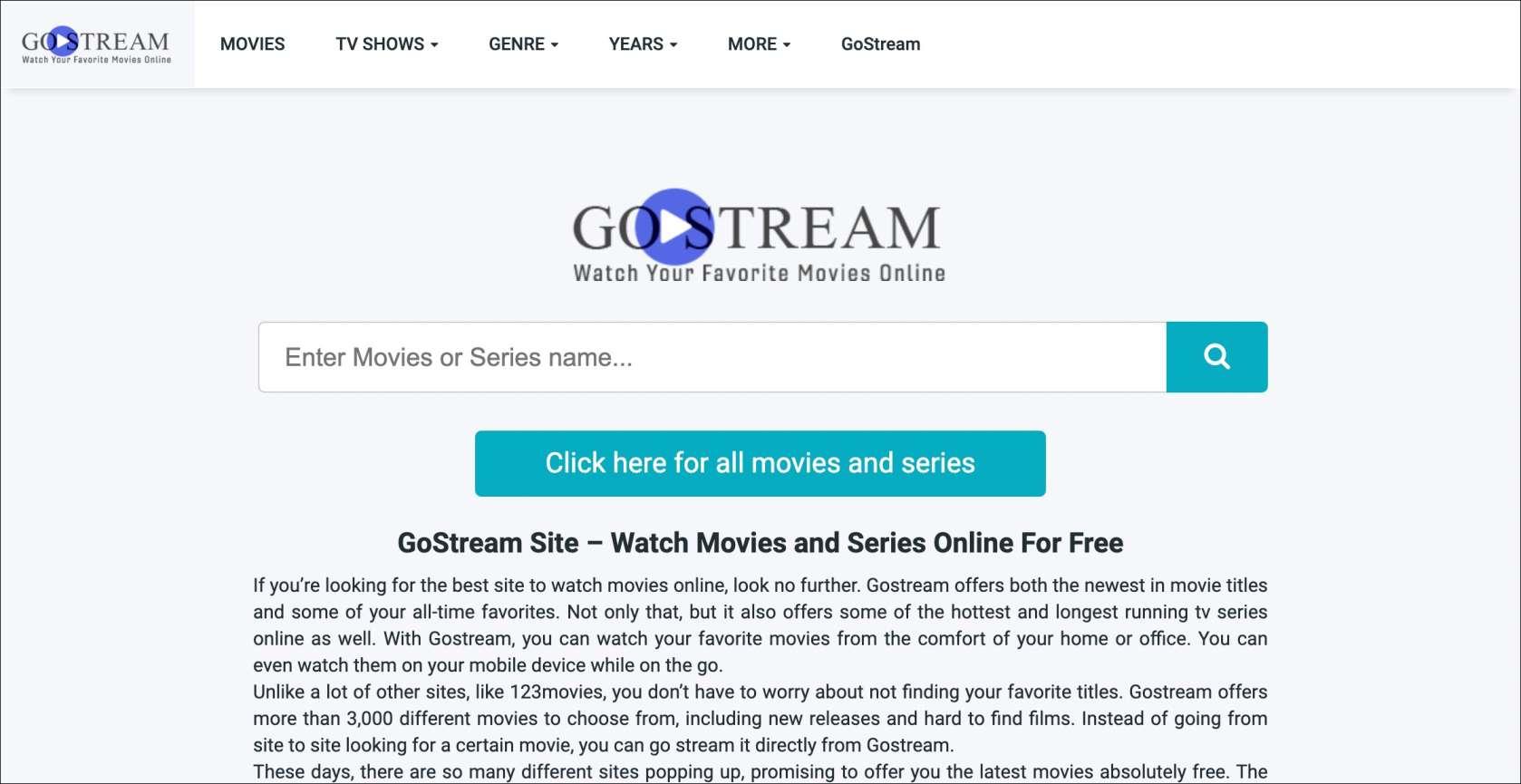 GoStream