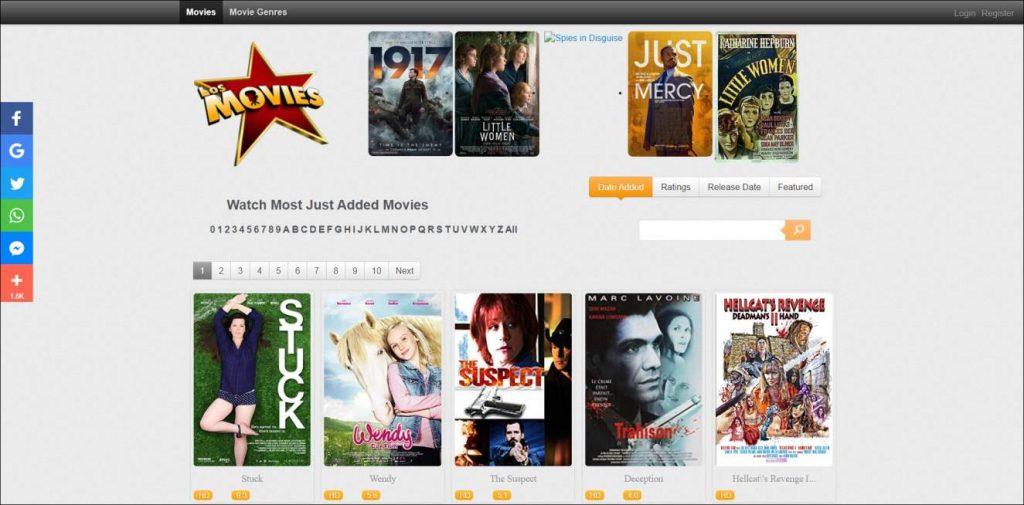 Los Movies, Xmovies8 alternative