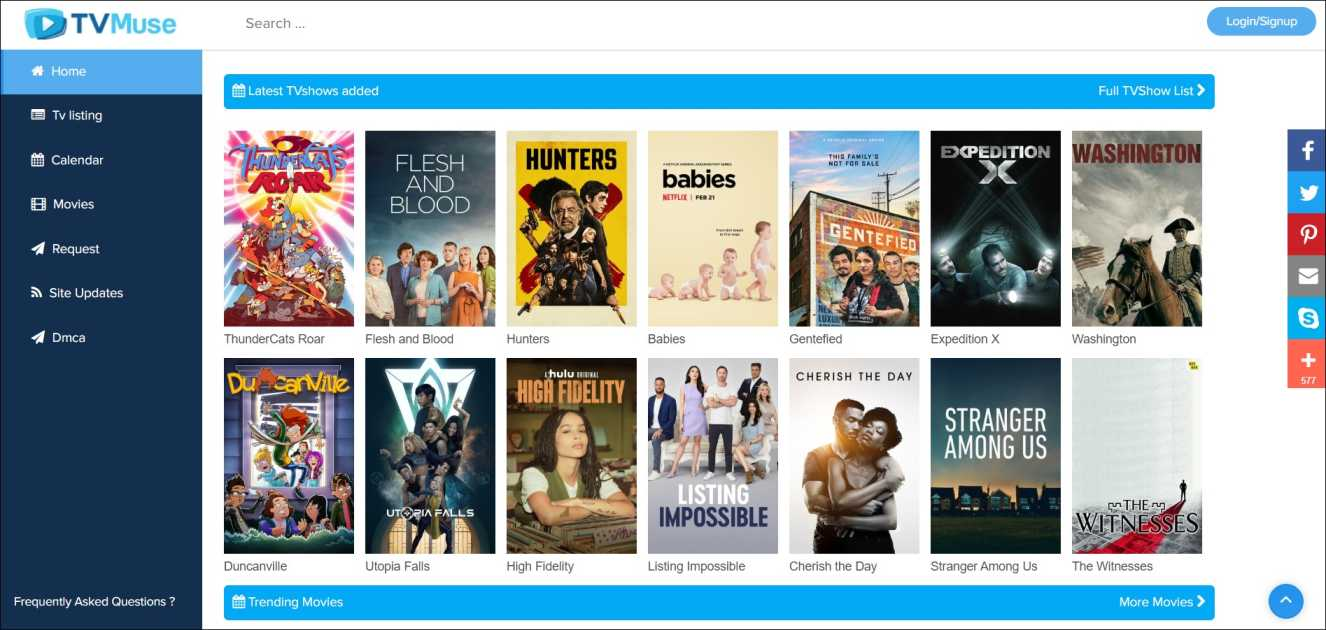 7 Best Tvmuse Alternatives To Watch Movies For Free 2020