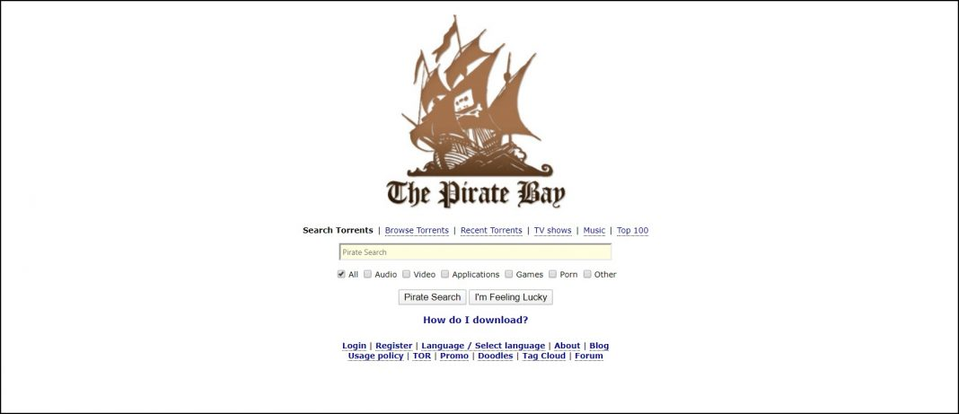 ThePirateBay proxy sites and alternatives