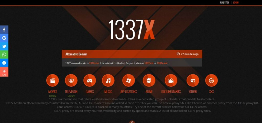 1337X, Demonoid alternative