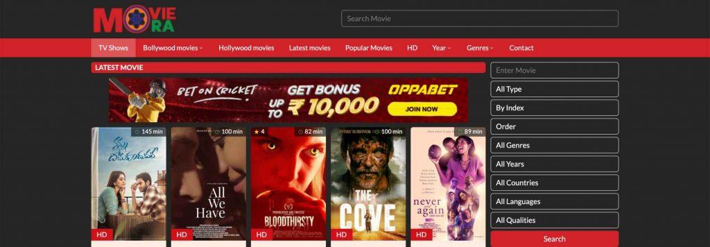 Moviemora, best free online movie streaming sites